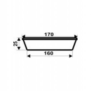 d=170мм Баночка 0,3 л